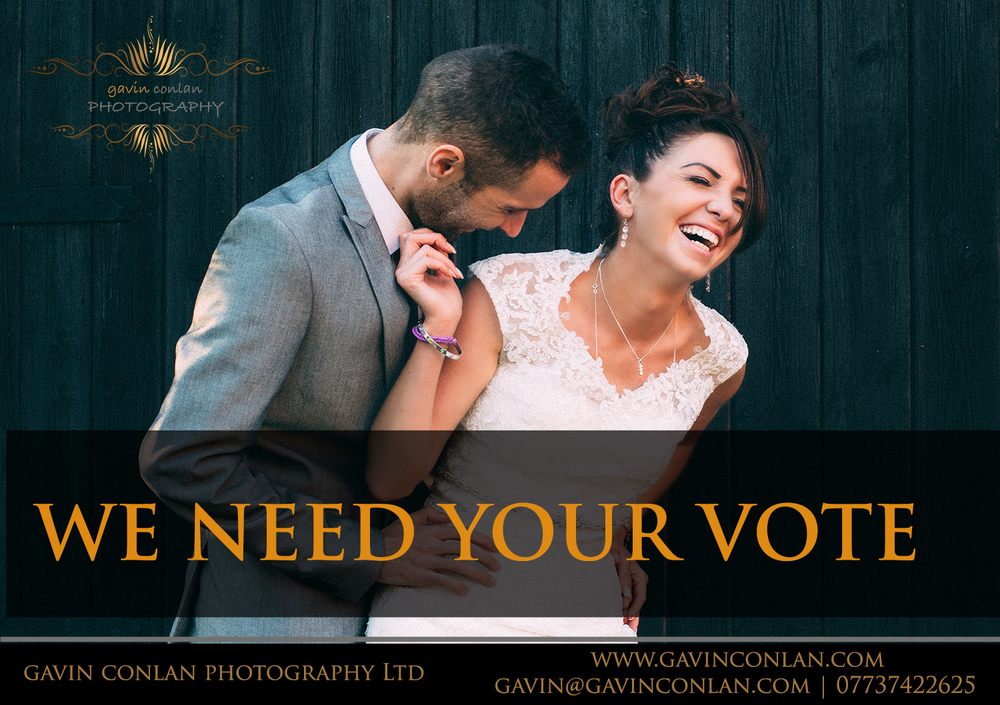 vote for Sherri and Rob to win the Grand Final of An Essex Wedding's Wedding of the Year competition