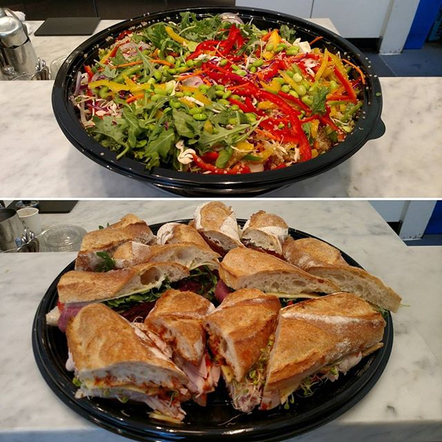 Good morning Financial District! Got a large meeting you need catered? Drop us a line for breakfast or lunch catering!