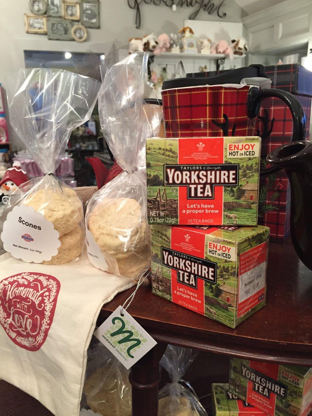 Yorkshire tea!