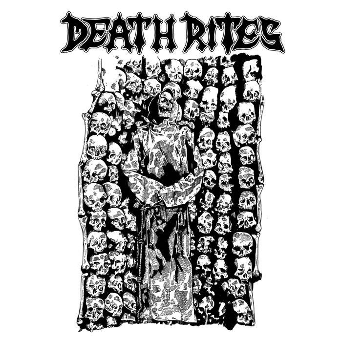 Death Rite was a Sydney based zine from late 88-91. Covering metal & crossover from around the world through the era of tape trading and zines. Over the course of the zine they interviewed/covered a diverse set of bands - Morbid, Nihilist, Hellwitch, Bloodcum, Demolition Hammer, Soothersayer, Sindrome, Morbid Angel, Tribulation, Virus, Stupids, Nocturnus, Sadistic Intent, Autopsy, Righteous Pigs, Mission of Christ, OxLxD, Immolation, Outrage, Extreme Noise Terror, Deranged, Mass Confusion, Lethal Overdose plus more. Death Rites is a small line paying tribute to that era. All original art by UK artist French. We are very excited to add Death Rites to our current brand line-up. Stay tuned for their next delivery in the coming month.