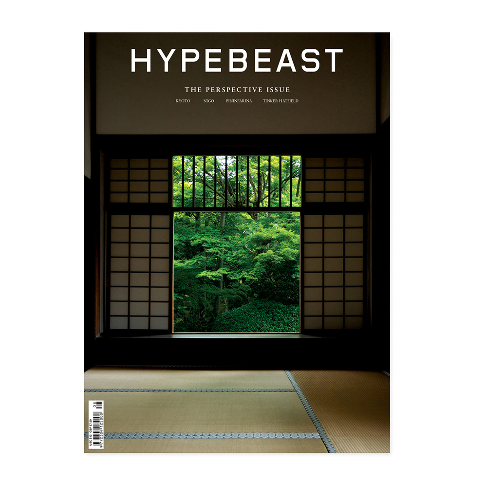 HYPEBEAST MagazineIssue 8: The Perspective Issue.  Features include the renowned Italian design housePininfarina, who's heritage in automotive design has set the standardfor the aesthetic of super cars, specificallyFerraris. HYPEBEAST also sat downwithTinker Hatfield, one of the most respected and innovative footwear designers atNikeandJordan Brand– a man who has dedicatedhis entire career tohoninghis craft and designedover 10 years worth of the most sought-afterAir Jordansneakers along the way. Alongside this, they look at design from the standpoint of industrial design, film and 3D animation, visual art, architecture, and more. This includes interviews with artist Samuel Burgess-Johnson, pop culture iconNIGO®,a selection of design-orientedproducts curated by Cereal Magazine, a look at modern and minimal interior design with a notable architect, and manymore exciting stories. Now available in-store and online.