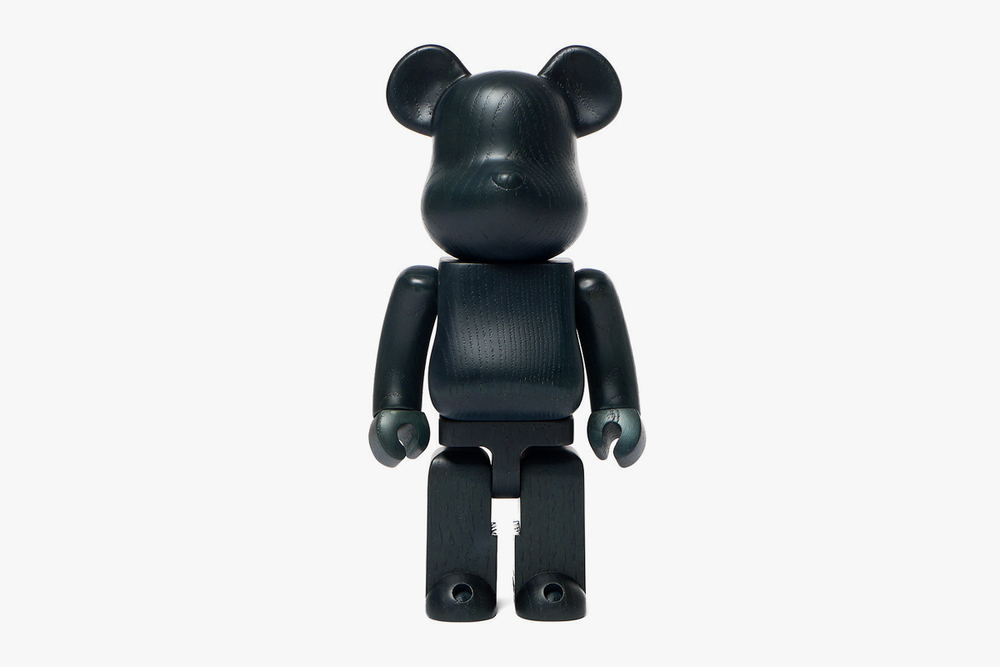 Karmioku Indigo Paint 400% Wooden BE@RBRICK by Medicom now available in-store & online.