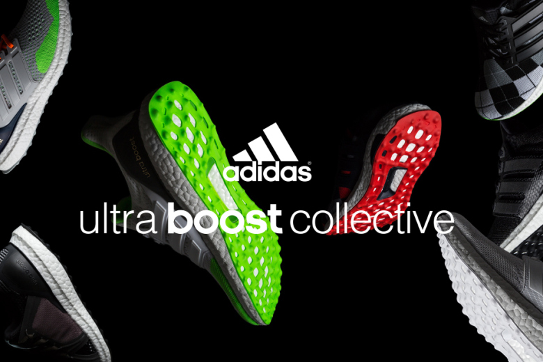 adidas announces a bold reimagining of its greatest running shoe, Ultra BOOST™, as seen by Stella McCartney, Kris Van Assche, kolor's Junichi Abe, and adidas Creative Directors Dirk Schönberger & James Carnes. The Ultra BOOST Collective, a limited-edition capsule collection, features iconic and personal takes on Ultra BOOST by these 5 designers. The result is a series of footwear that encapsulates both the innovative tradition of adidas and the distinct aesthetics of each creator—striking a balance between futuristic technology and modern elegance. The collection features unique colorways and patterns of the breakthrough Ultra BOOST model: the ultimate expression of adidas' revolutionary BOOST technology featuring the industry's highest Energy Return. Ultra BOOST combines a cohesive system of the most innovative and fully adaptive technologies, including the innovative fit technology of adidas Primeknit, to deliver your greatest run ever. Beginning in May 2015 footwear designs from the Ultra BOOST Collective will be released throughout the year in limited quantities via select global retailers including ACD Gallery. Additionally, launch events will take place in the cities where each creator lives and works, London – Stella McCartney, Paris – Kris Van Assche, Berlin – Dirk Schönberger & James Carnes, Tokyo – kolor.