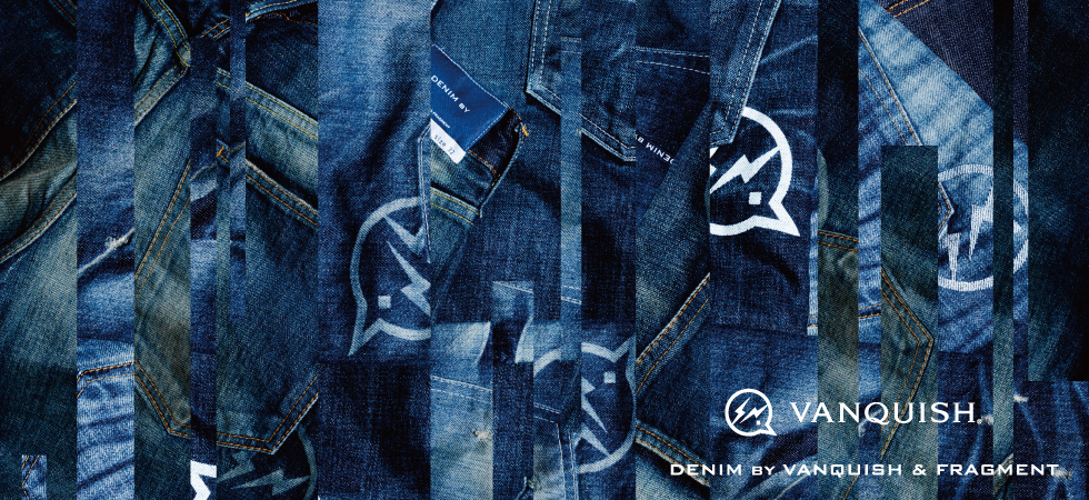 First started in 2011, Denim By Vanquish & Fragment is the result of the collaboration between Hiroshi Fujiwara's Fragment Design & Japanese label Vanquish. We are extremely honored to be working with Denim By Vanquish & Fragment. ACD Gallery is one of the few select retail partners outside of Japan offering their exclusive products.