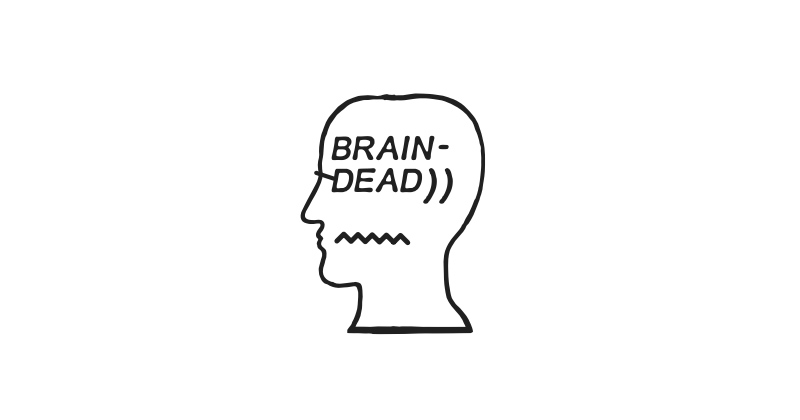 A collective of artists and designers from around the world, BRAIN DEAD takes their ideals and graphic inspiration from anarchy, music, underground movements, and skateboarding. BRAIN DEAD is available now at ACD Gallery.