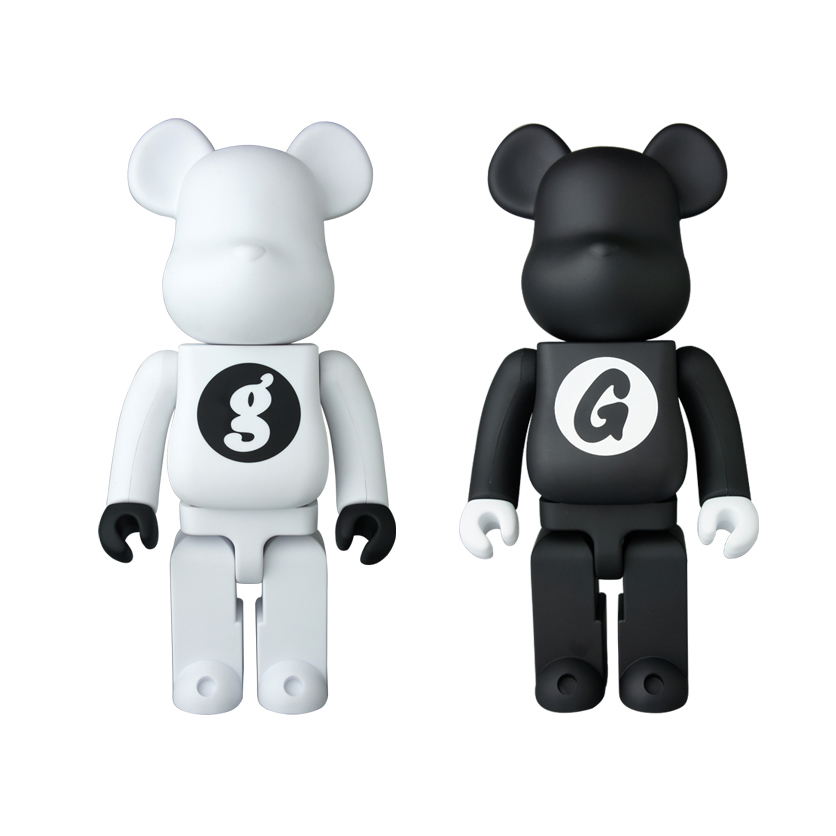 Releasing Nov. 28th at ACD Gallery, GOODENOUGH 400% Bearbricks by Medicom Toy Co. Japan. These are a limited release celebrating Hiroshi Fujiwara's GOODENOUGH 25th anniversary.