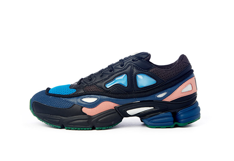 The adidas by Raf Simons Ozweego 2 takes a futuristic approach in a wildly colourful layered upper with a running-inspired profile and transparent silicone windows. The Ozweego 2 is available in-store & online at ACDGALLERY.COM.