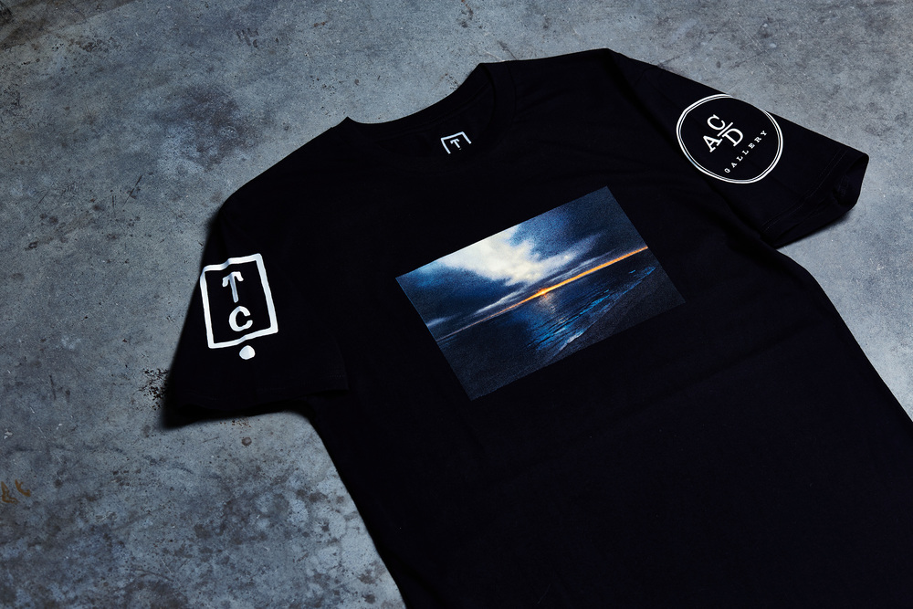 Team Cozy x ACD Gallery Photo Tee now available. Limited to 50 pieces.