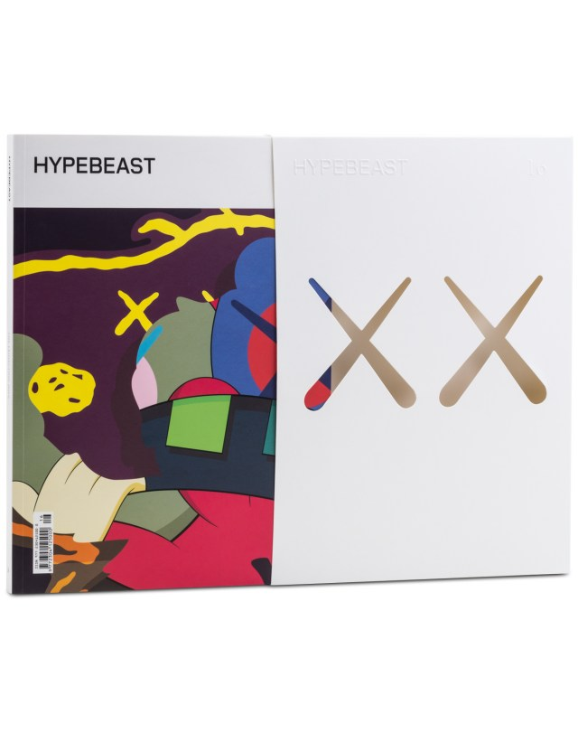 HYPEBEAST Magazine's The Projection Issue goes beyond the products we buy and into the perspectives which inspired them. A curation of individuals and collectives who excel at projecting lifestyle philosophies through their work, The Projection takes us into the world of brand imaging, both as a business model and as an art form. Magazine cover and limited edition case by KAWS, created exclusively for HYPEBEAST Magazine. Available exclusively in-store at ACD Gallery.