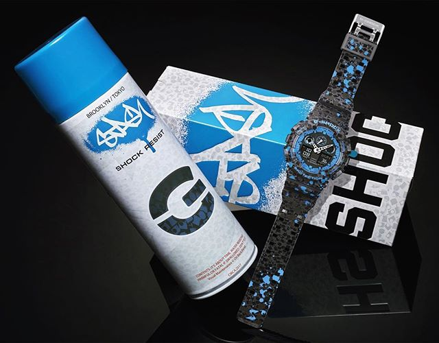 STASH x G-SHOCK GA-100ST now available at ACD Gallery. Limited quantities. ⚫️🔵 -- #stashxgshock #gshockga100