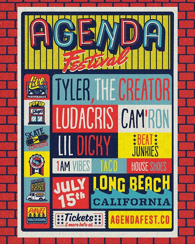 We are helping our friends over at Agenda Show promote their first ever Agenda Festival on July 15th in Long Beach. The first 20 people to stop by ACD Gallery today, make a purchase + mention Agenda will receive a FREE eticket to the Festival. Who remembers Agenda back when it started out in San Diego? #agenda @agendashow