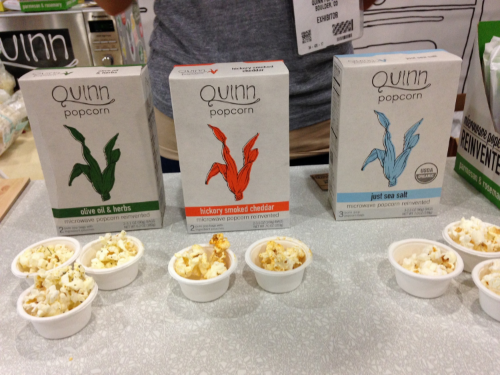 Hybrid Food Trend example - Kale flavored popcorn!