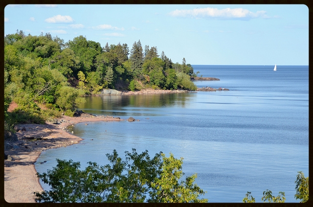 Lake Superior. Photo by Flickr user  jpellgen