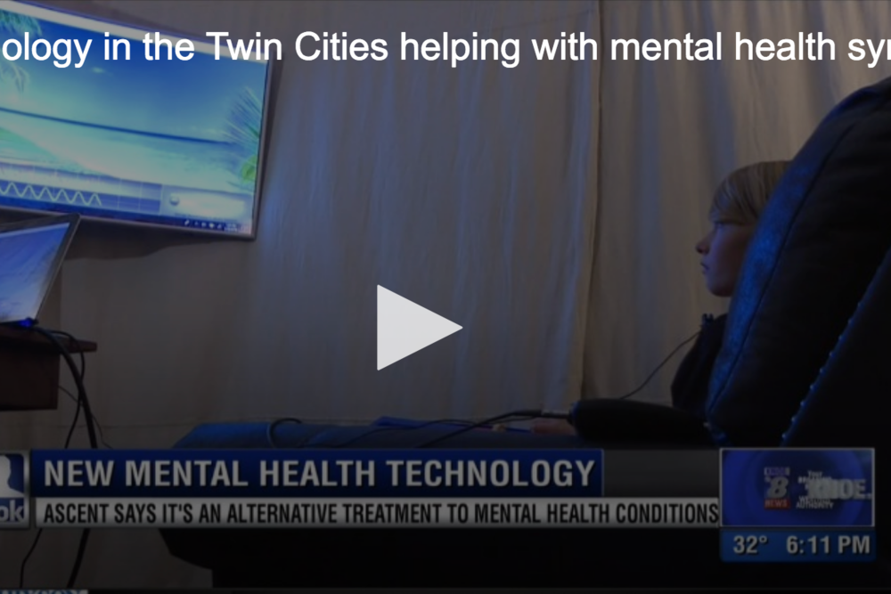 New Technology in the Twin Cities helping with mental health symptoms -