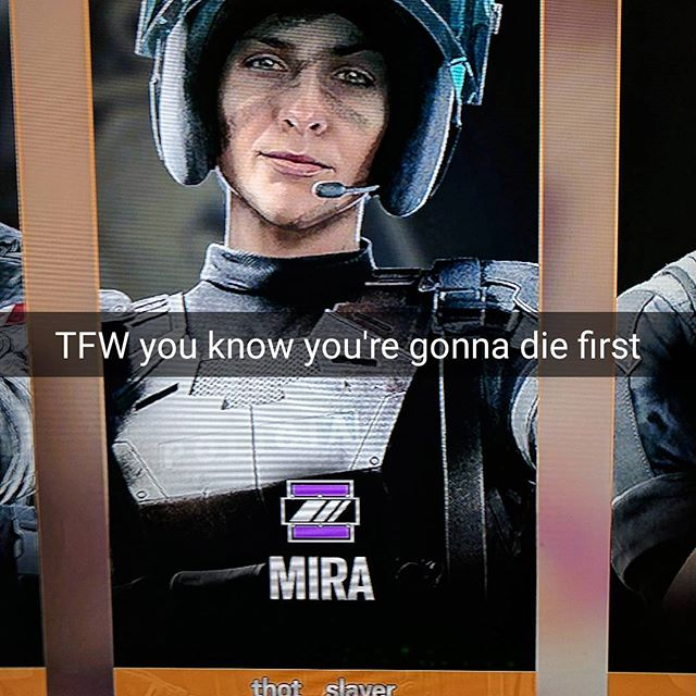 Thought this would be a funny meme. @rainbow6game_us #rainbow6siegememes #rainbow6siege #pcgaming #meme #funnymemes