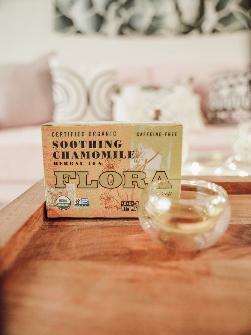 Soothing Chamomile Tea - Not gonna lie— I'm a little biased towards chamomile tea. The aroma, the comforting taste… AAH the whole shabang! I just love it so. My favorite go-to tea when I'm in distress. Flora Health's Soothing Chamomile Tea is among the best chamomile I've ever had.Overall rating: 5/5