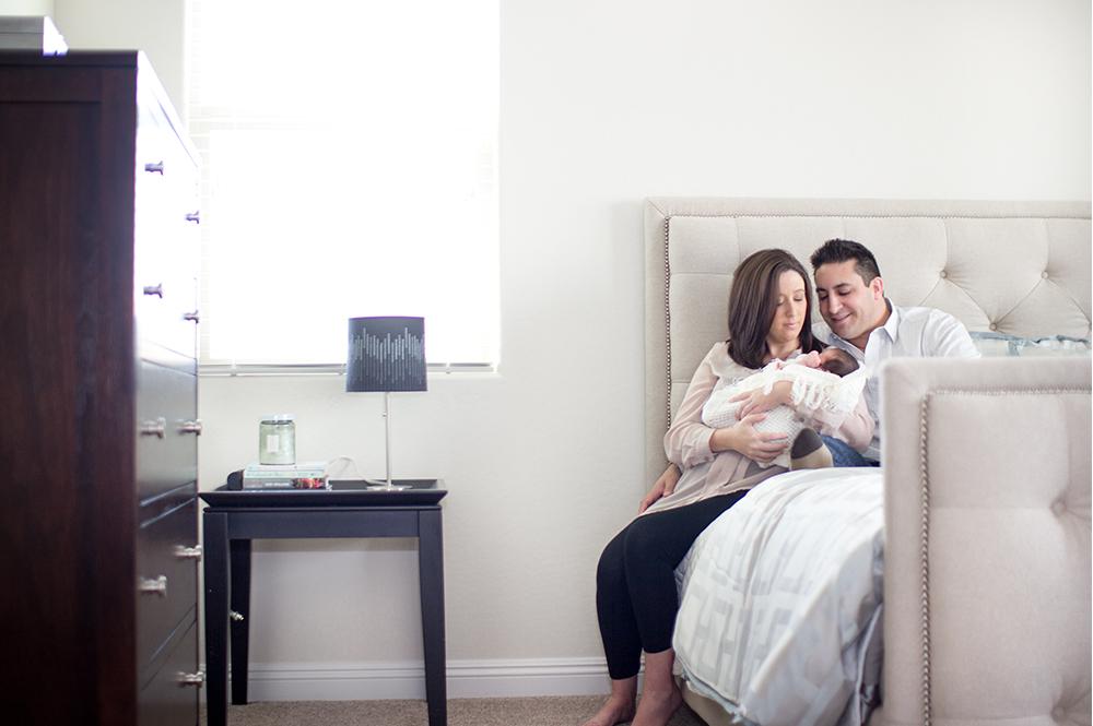 Newborn home seesion az 1