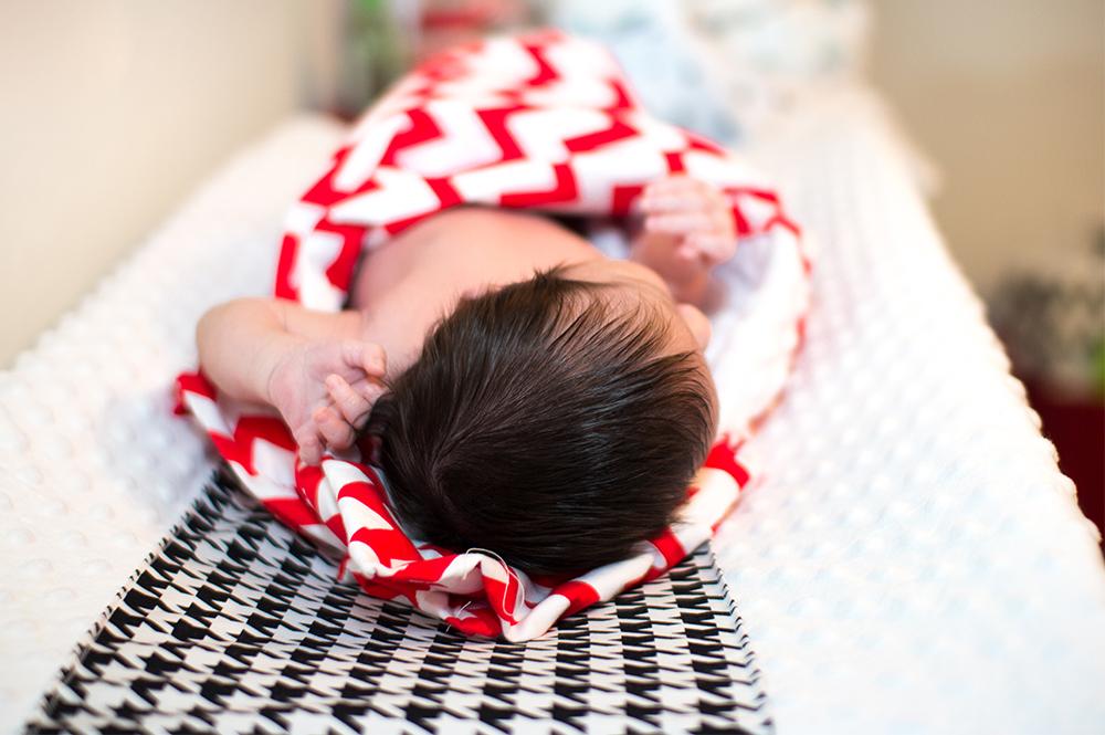 Newborn home seesion az 7