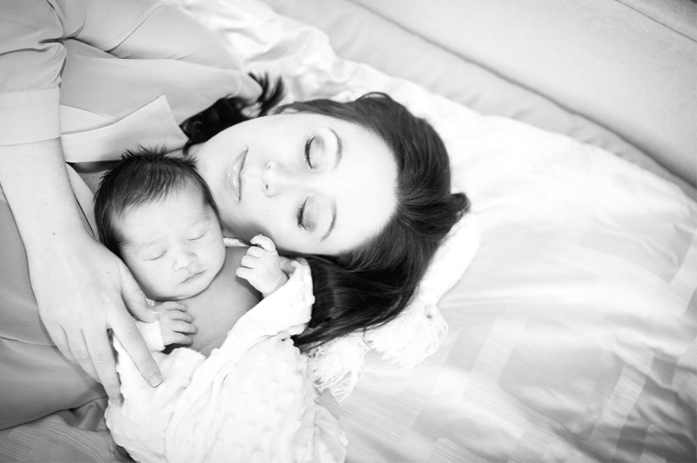 Newborn home seesion az 9