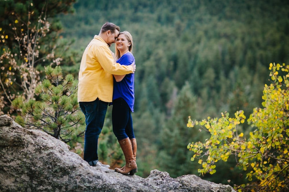 Evergreen Fall Engagement Session -8.jpg