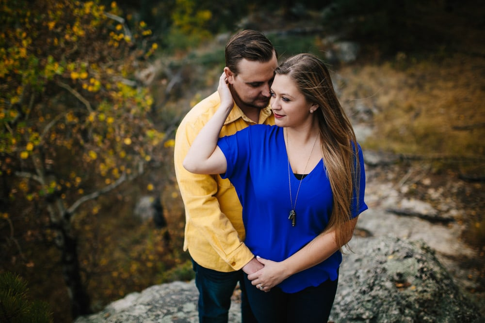 Evergreen Fall Engagement Session -11.jpg