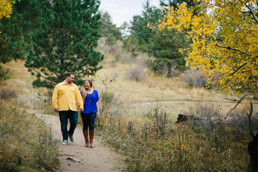Evergreen Fall Engagement Session -13.jpg