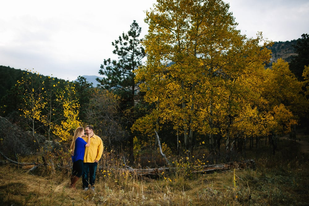 Evergreen Fall Engagement Session -14.jpg