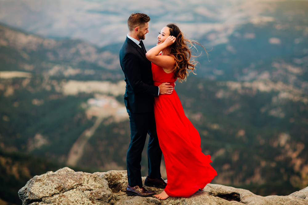 Red Dress Engagement Session - Denver Engagement Photographer 39.jpg