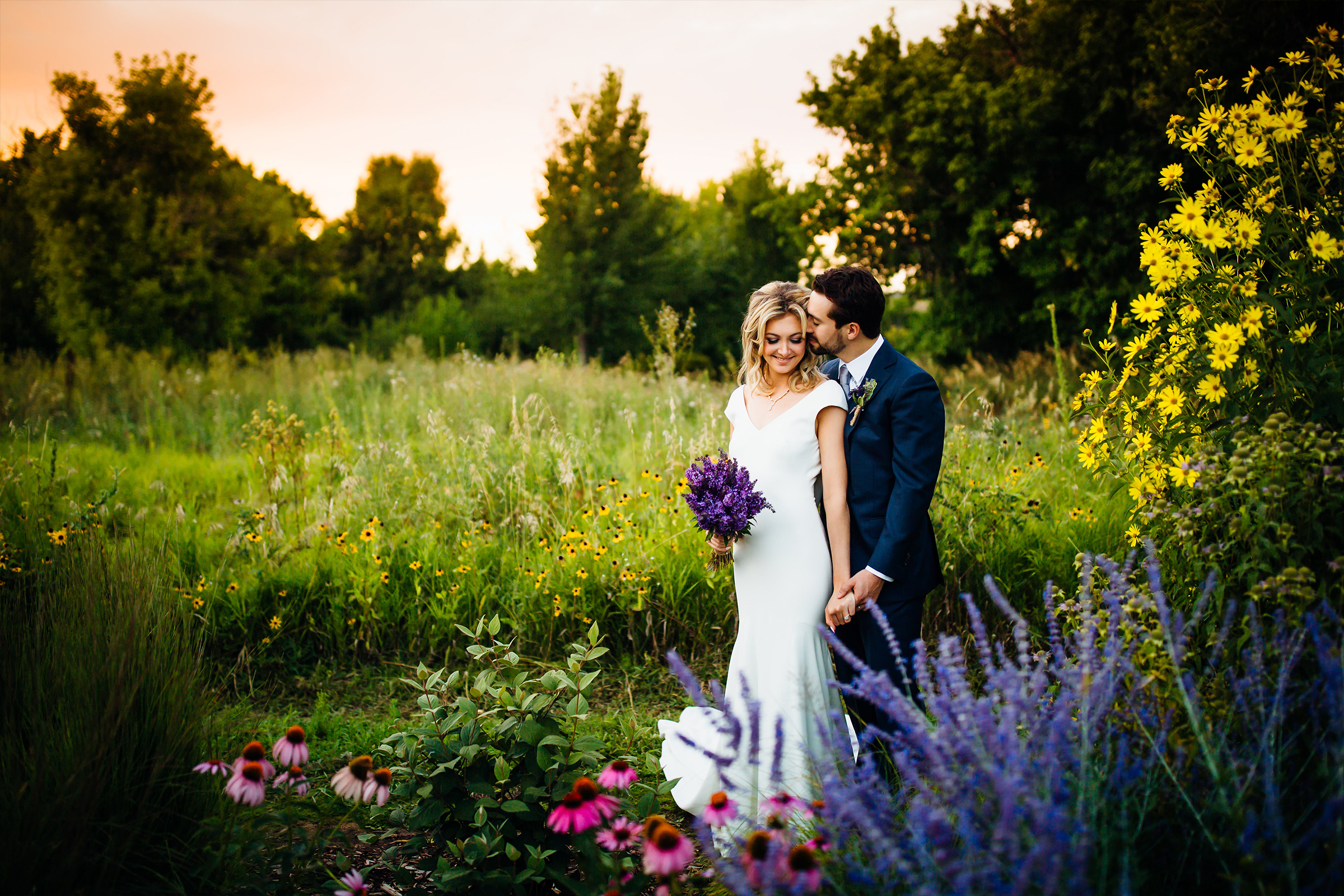Chatfield Farms Wedding Denver Botanic Gardens