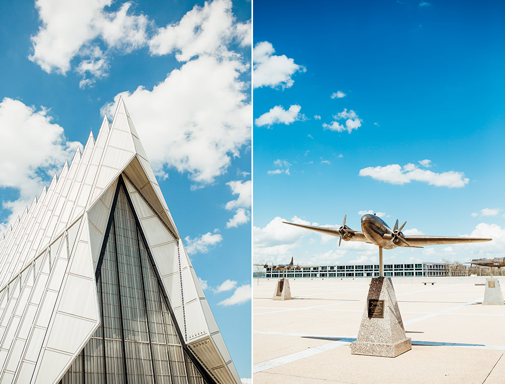 United States Air Force Academy Cadet Chapel Wedding-3.jpg