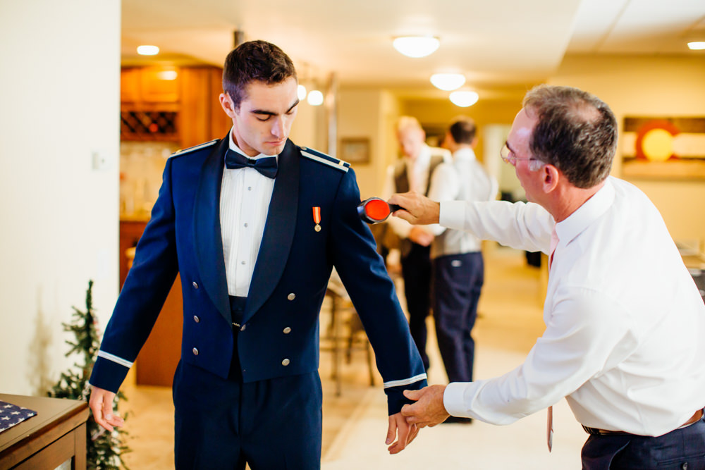 United States Air Force Academy Cadet Chapel Wedding-8.jpg