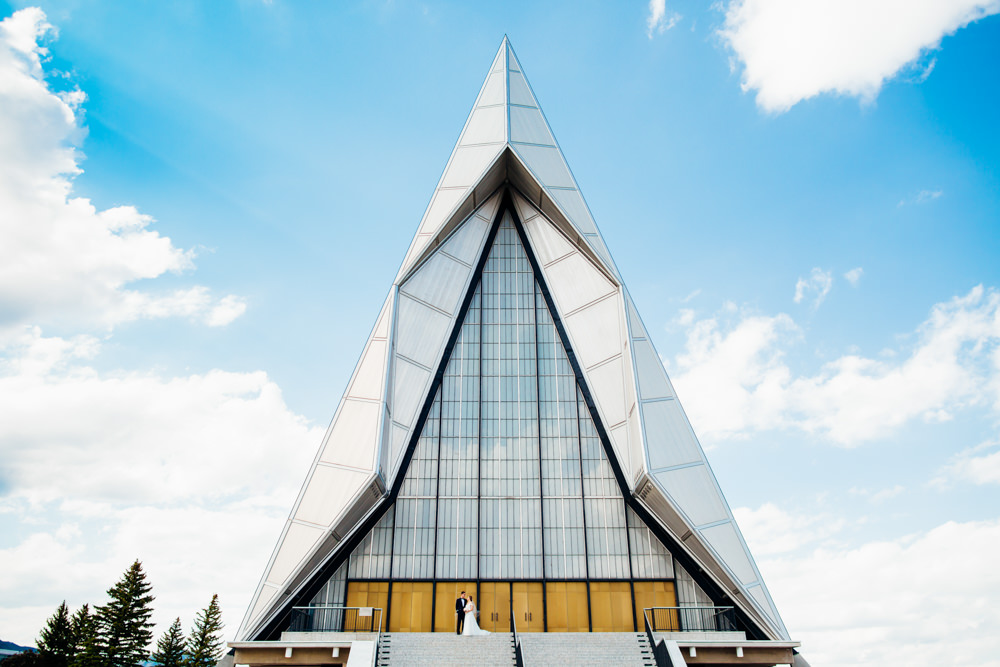 United States Air Force Academy Cadet Chapel Wedding-33.jpg