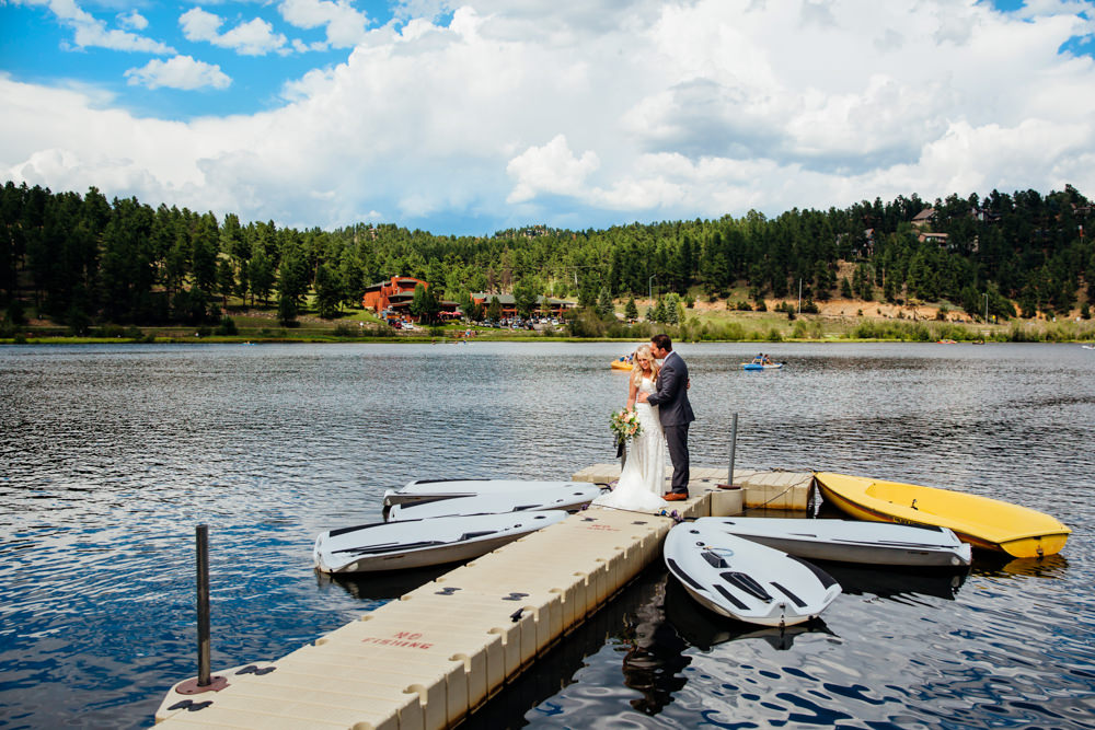 Evergreen Lake House Wedding - Rainy Colorado Wedding -23.jpg