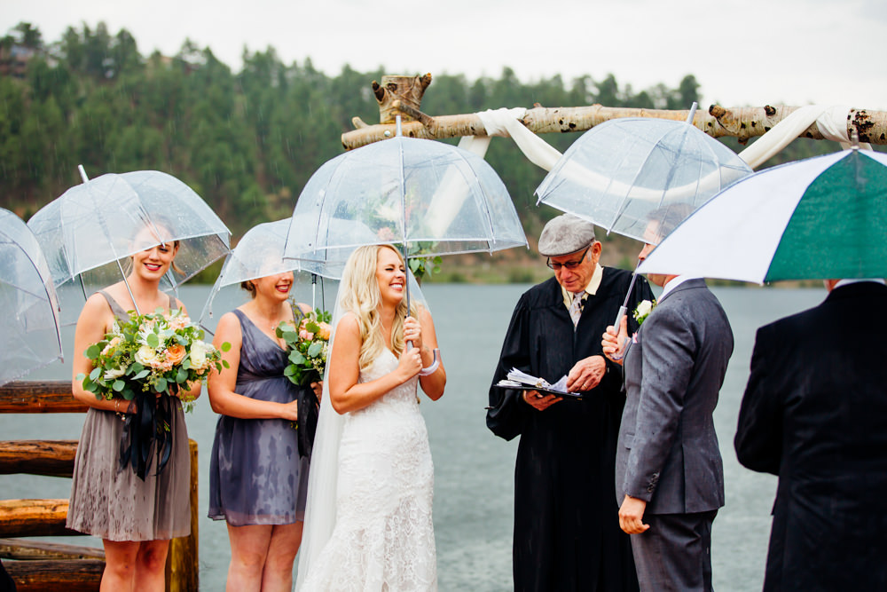 Evergreen Lake House Wedding - Rainy Colorado Wedding -45.jpg