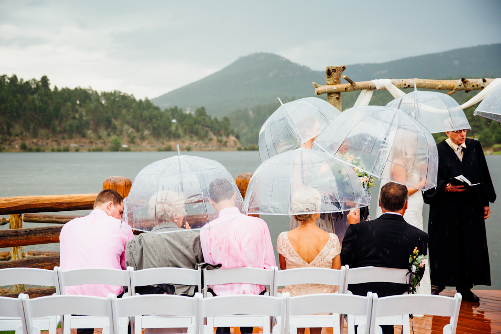 Evergreen Lake House Wedding - Rainy Colorado Wedding -46.jpg