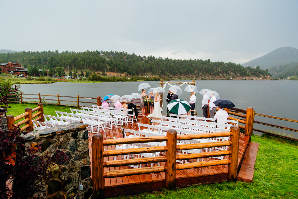 Evergreen Lake House Wedding - Rainy Colorado Wedding -50.jpg