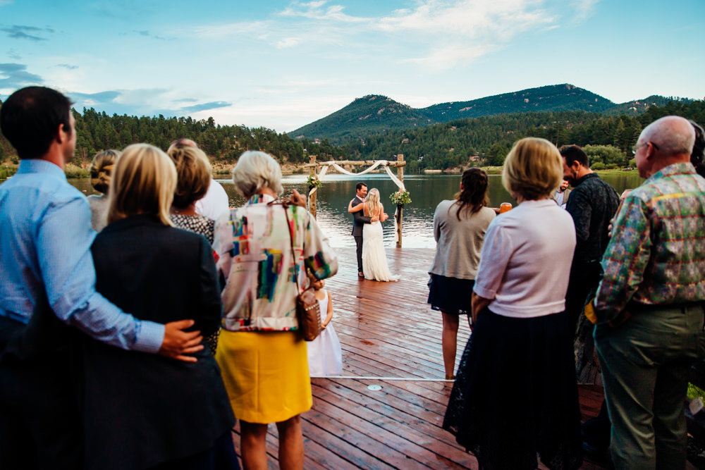 Evergreen Lake House Wedding - Rainy Colorado Wedding -69.jpg