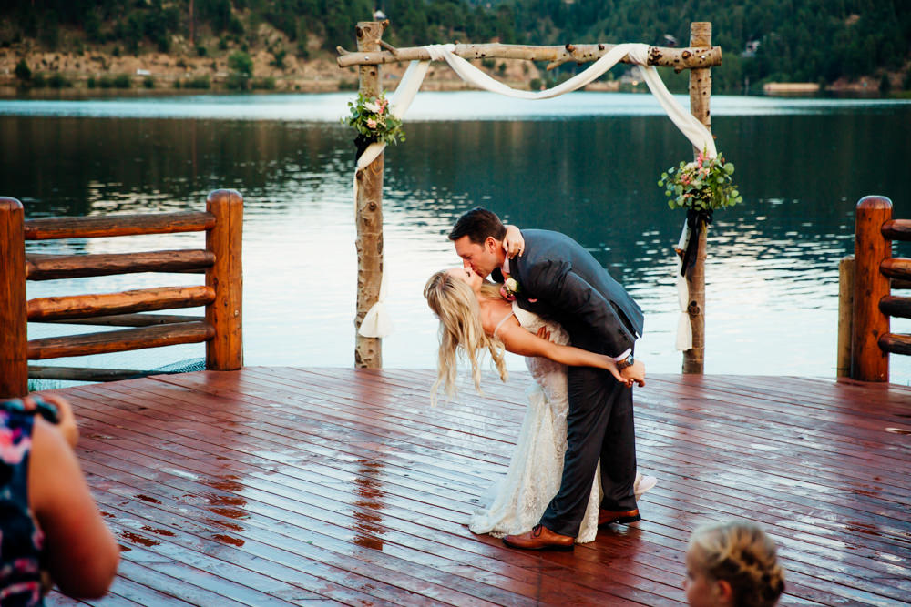 Evergreen Lake House Wedding - Rainy Colorado Wedding -70.jpg