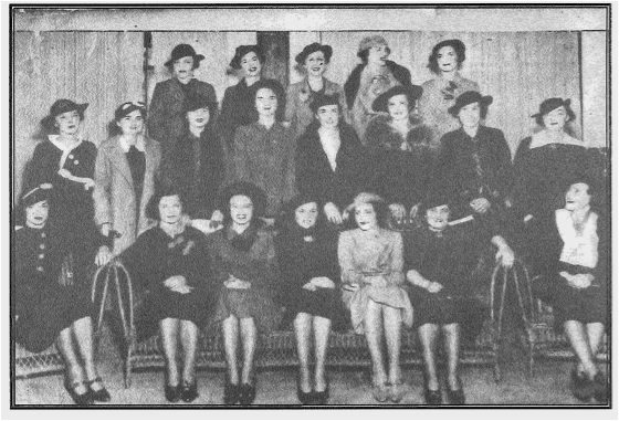 Founding Junior Assembly Members, 1935
