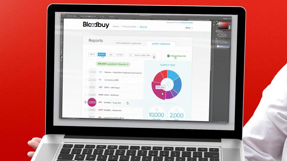 Bloodbuy Website Design