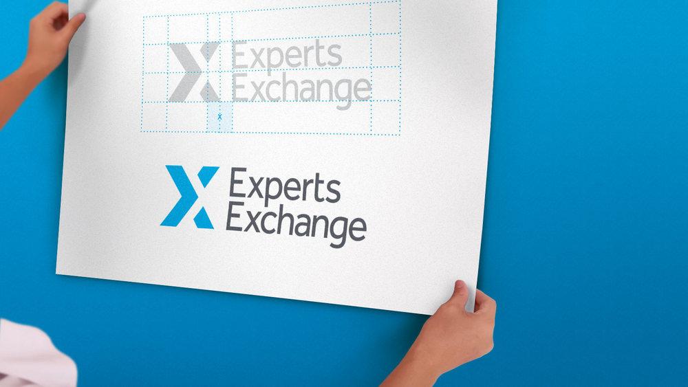 Experts Exchange Logo Design
