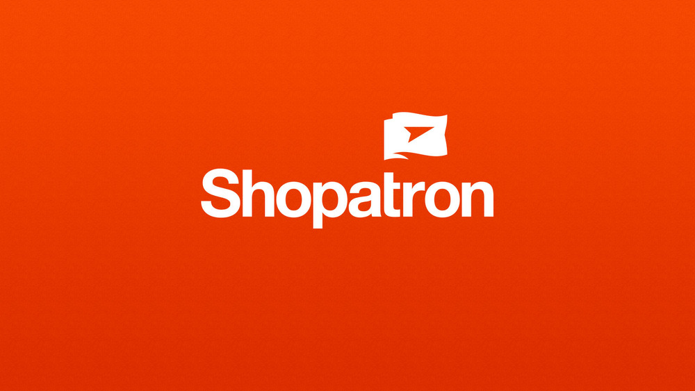 Shopatron Logo Design