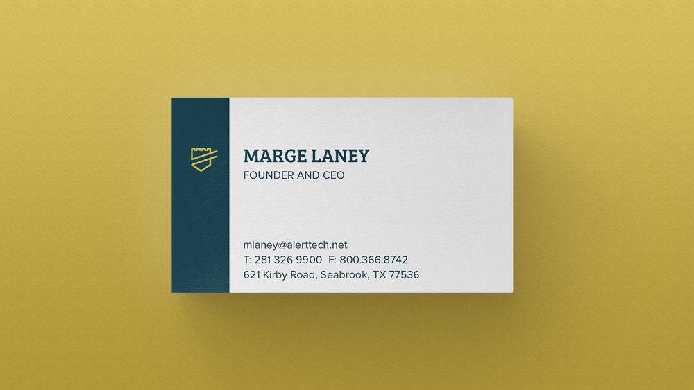 AlertTech Business Cards