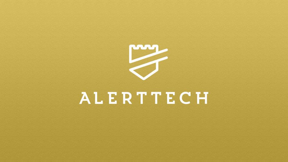 AlertTech Logo Design