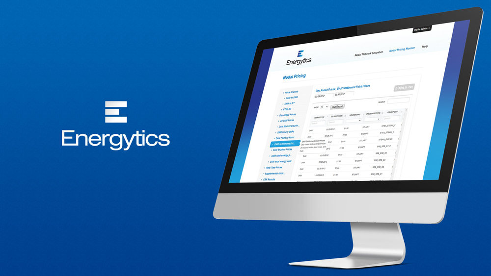 Energytics Website Design