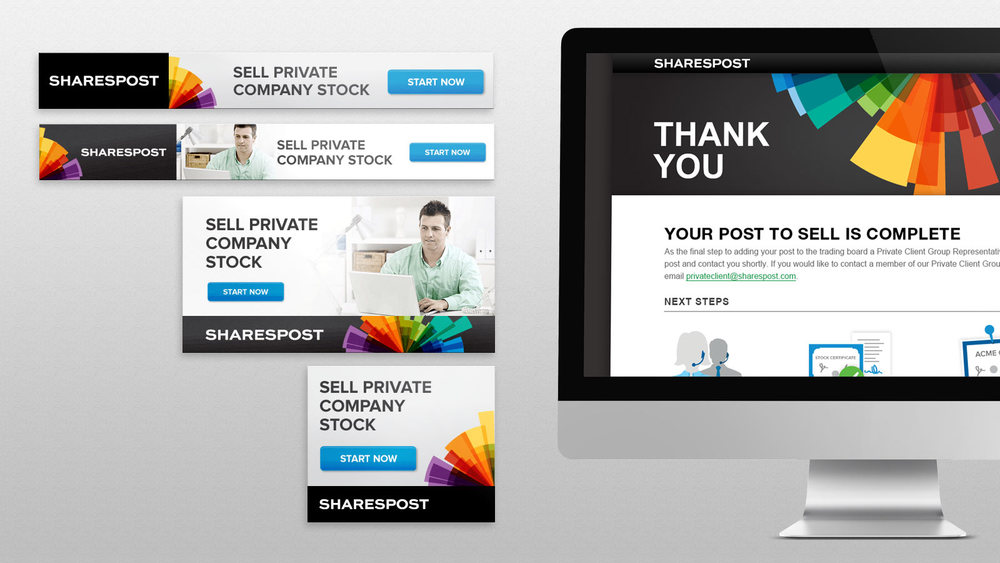 Sharespost Marketing Collateral