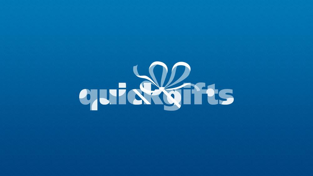 QuickGifts Logo Design