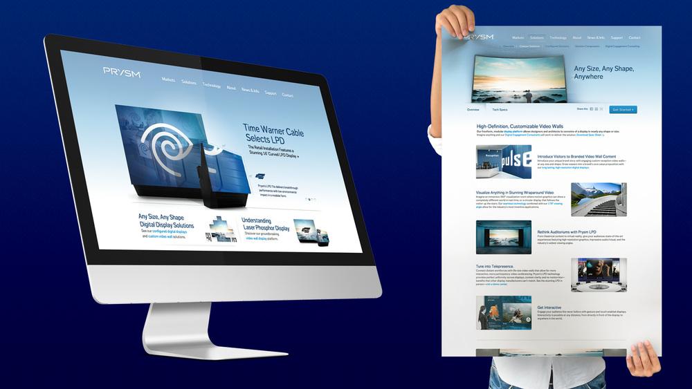 Prysm Website Design