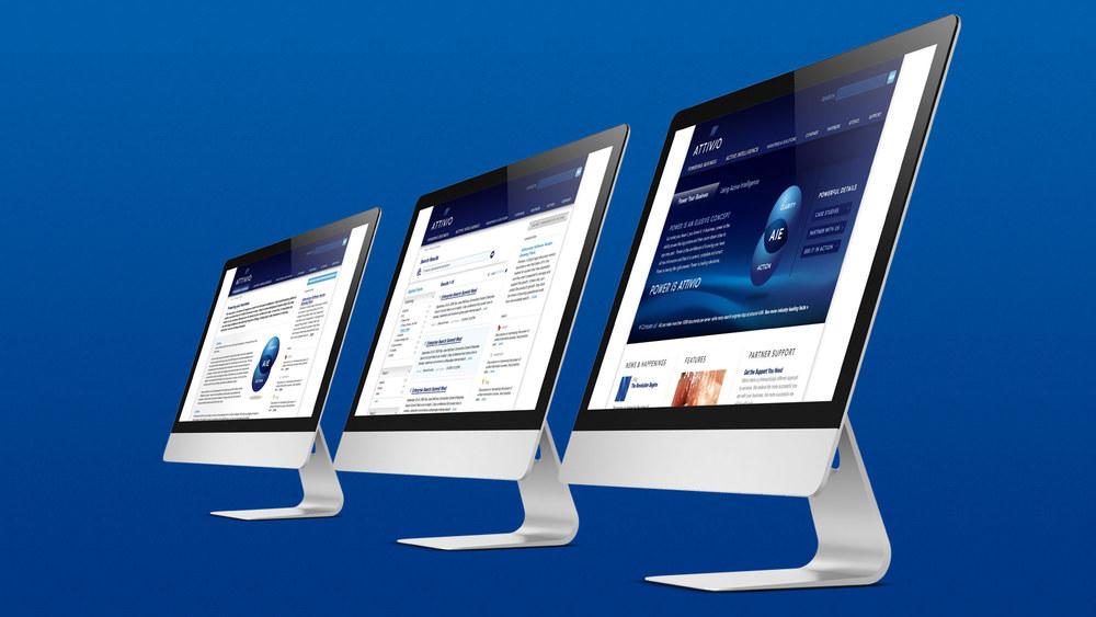 Attivio Website Design