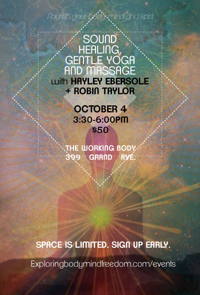 Fall Sound Healing and Yoga